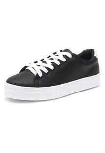 Tênis Sapatênis Casual Leve Jl Shoes Preto