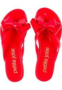 Sandália Petite Jolie Vermelho 34