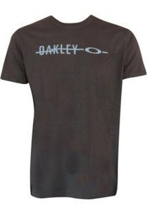 Camiseta Frizzly Elipse Tee Jet Oakley Masculina - Masculino
