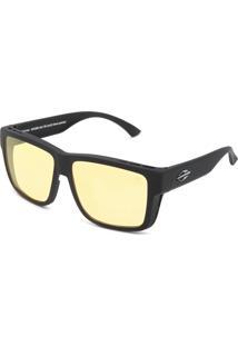 Óculos De Sol Mormaii Overlap Preto/Amarelo