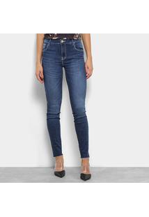 c5d00bbd96 R$ 229,99. Zattini Calça Jeans Skinny Coca-Cola Estonada Cintura Alta  Feminina - Feminino-Azul