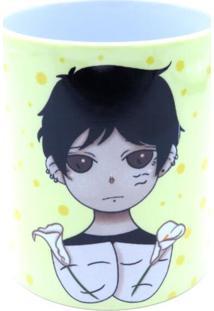 Caneca Bad Rose Personagem Autoral - Br1651- Calla Lily