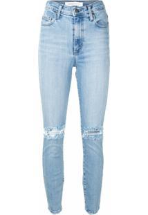 Nobody Denim Calça Jeans Skinny Siren Cintura Alta - Azul