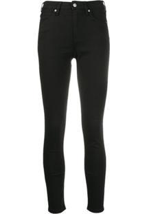 Calvin Klein Jeans Calça Jeans Skinny - Preto