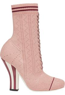 Fendi Ankle Boot - Rosa