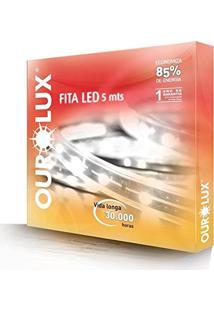 Fita Led Ip65 5 Metros Branca Fria 12V 24W Ourolux 03621