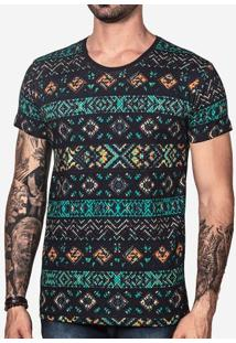 Camiseta Ethnic Color 101151