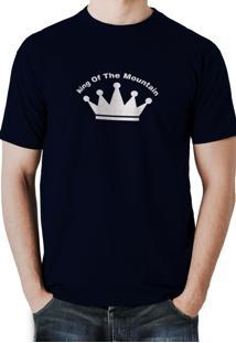 Camiseta Trilha Camisetas King Of The Azul-Marinho