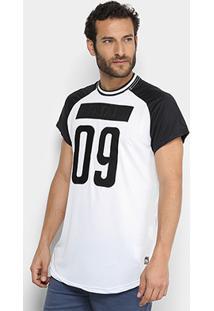 Camiseta Fatal 09 Tecido Dry Alongada Masculina - Masculino