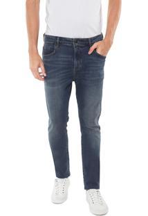 Calça Jeans Forum Slim Alexandre Azul
