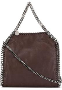 Stella Mccartney Small Falabella Shoulder Bag - Marrom