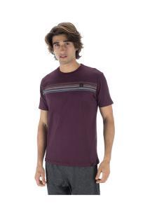 Camiseta Hd Estampa Corrosive - Masculina - Vinho