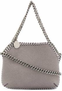 Stella Mccartney Mini Falabella Crossbody Bag - Cinza