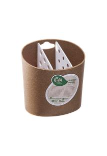 Porta-Talheres Bios 13,8 X 10,5 X 14,4 Cm Bios Com Branco Coza