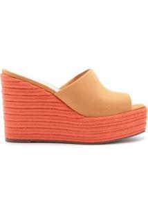 Sandália Wedge Corda Orange | Schutz