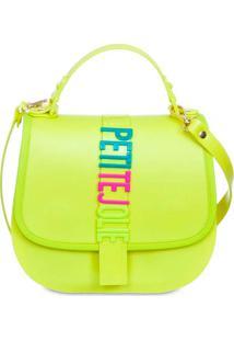 Bolsa Feminina Sanddle Petite Jolie Casual Neon
