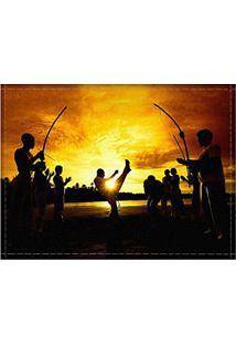 Jogo Americano Decorativo, Criativo E Descolado | Grupo De Capoeira - Tamanho 30 X 40 Cm