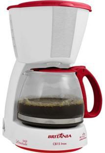 Cafeteira Britânia Cb15 Inox Red 220V