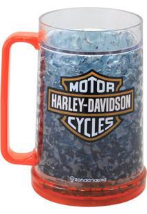Caneca De Chopp Gelo Harley Davidson - Zona Criativa