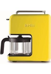 Cafeteira Kenwood Kmix, Faz Até 6 Xícaras De Café Por Vez, 1.200W Amarela - Cm028