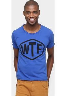Camiseta Sérgio K.Gola Careca Wtf - Masculino