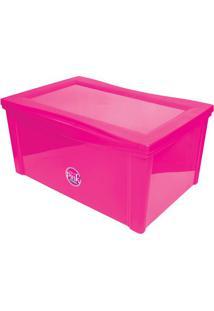 Caixa Organizadora Radical- Pink- 30,7X63,5X42,5Cm