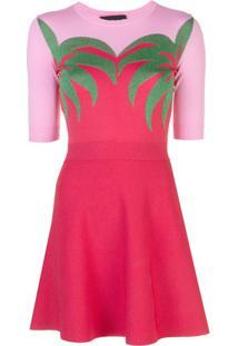 Boutique Moschino Vestido De Malha - Vermelho