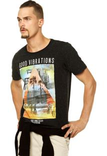 Camiseta Colcci Reta Preta