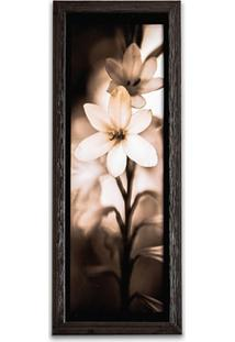 Quadro Flores 3 39X15Cm