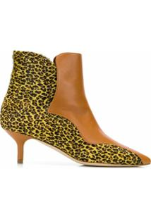 Malone Souliers Ankle Boot 'Jordan' De Couro - Marrom