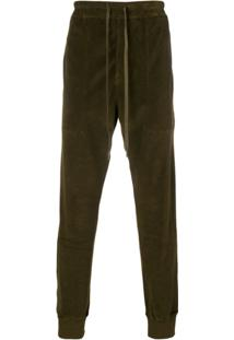 Tom Ford Drawstring Waist Trousers - Green