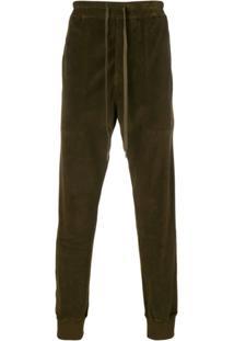 Tom Ford Drawstring Waist Trousers - Verde