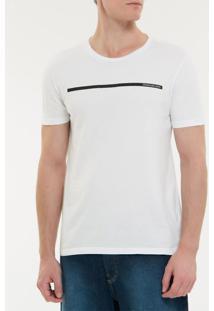Camiseta Ckj Mc Est Palito - Branco 2 - Pp