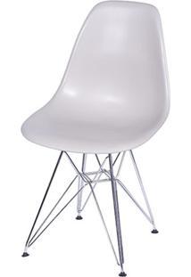 Cadeira Eames Polipropileno Fendi Cromada - 32066 - Sun House