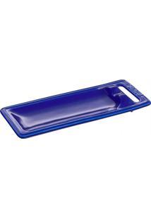 Descanso Para Talher De Cerâmica Staub Azul Marinho 25X10Cm - 24554