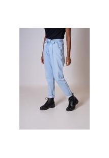 Calça Jeans Aero Jeans Mom Com Cinto
