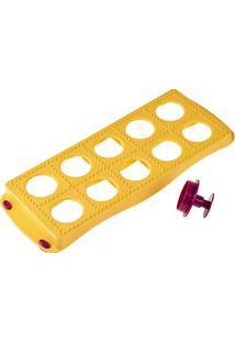 Forma Para Ravióli Redondo Metaltex Amarelo 31X12Cm - 28015