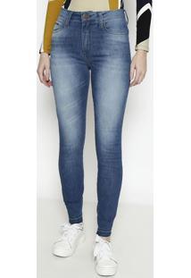 Jeans Marisa 2 Cigarrete- Azul- Forumforum