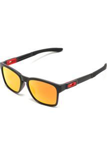 Óculos De Sol Oakley Catralyst Preto/Laranja