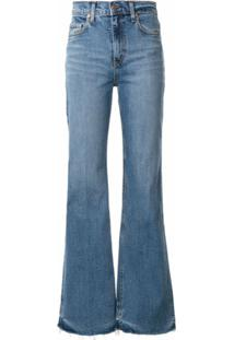 Nobody Denim Calça Jeans Flare Jacqueline - Azul