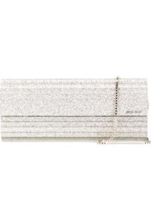 Jimmy Choo Clutch Modelo 'Sweetie' - Neutro