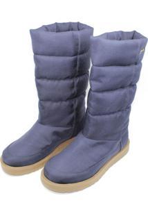 Bota Barth Shoes Snow Azul Marinho