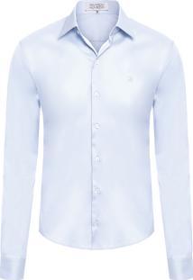 Camisa Masculina Lar - Azul Claro