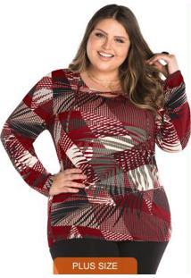 13e029cb76 Plus Size Estampado Transpassado feminino | Shoelover
