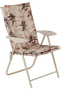Cadeira Estofada Kairos Florida Com 4 Regulagens 9007 Mor