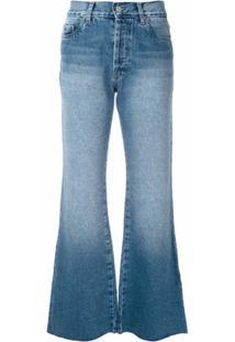 Eva Calça Jeans Love Flare - Azul