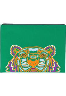 Kenzo Bolsa Carteira 'Tiger' - Green