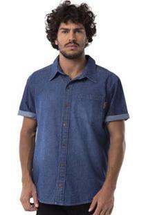 Camisa Jeans Long Island Dg Masculina - Masculino