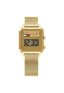 Relógio Tommy Jeans Feminino Aço Dourado - 1782254