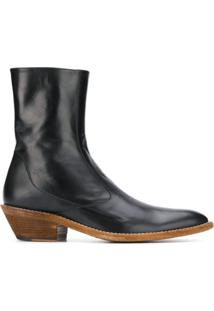 Haider Ackermann Pointed Ankle Boots - Preto
